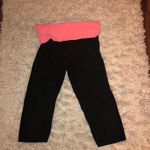 PINK Capri yoga pants